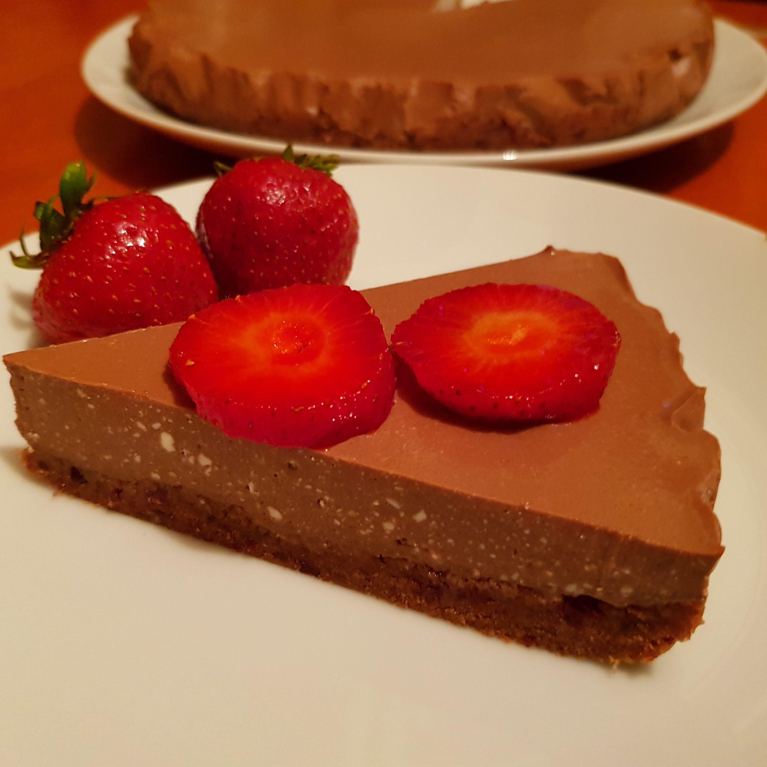 Fit sernik czekoladowy